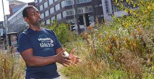 Ron Finley talks about parkway gardening in Los Angeles