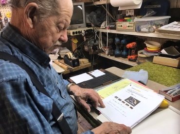 1. Dale finds blueprints he likes and modifies them.